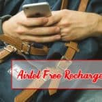 Airtel Free Recharge Tricks 2019 for Free Talktime & 4G Internet